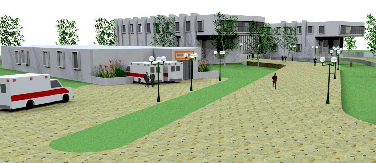 پروژه کامل بیمارستان