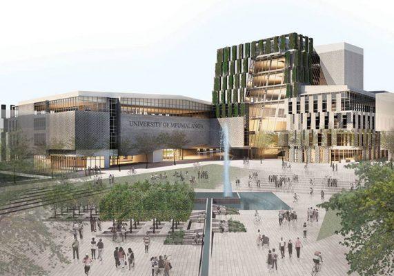 پروژه طراحی دانشکده معماری به همراه پلان های کامل آن