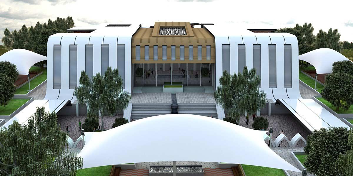 دانلود پروژه معماری کامل فرهنگسرا