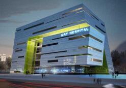 دانلود پروژه طراحی بیمارستان برای درس طرح 4 معماری