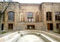 پروژه خانه مجتهدی تبریز به همراه پلان های معماری