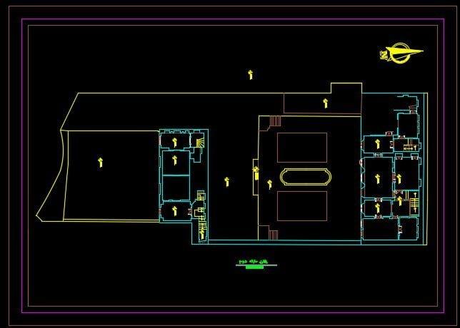 نقشه خانه مجتهدی