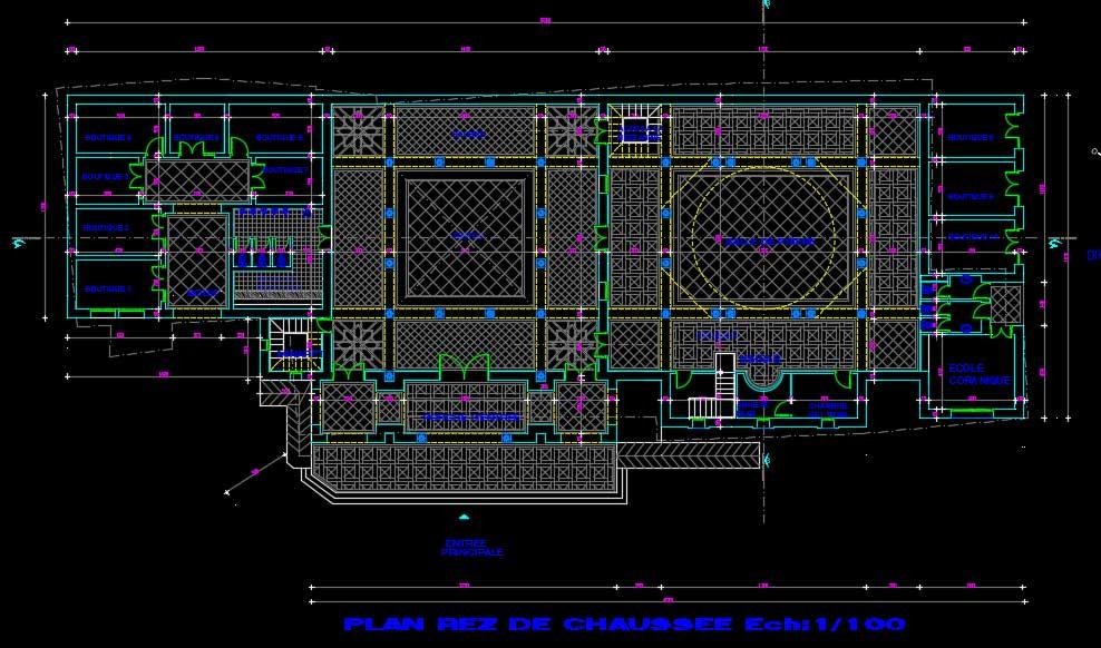 پروژه طراحی معماری مسجد