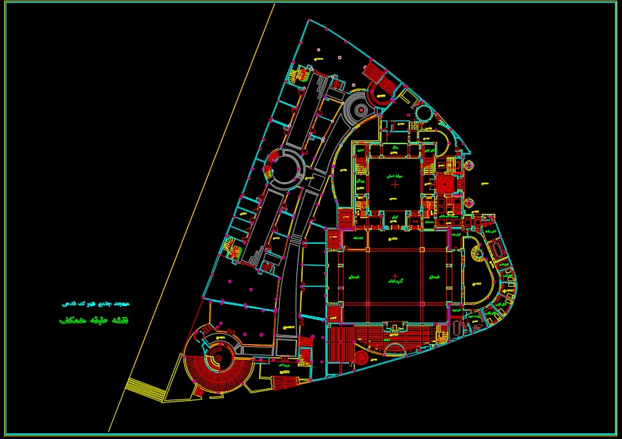 نقشه مسجد