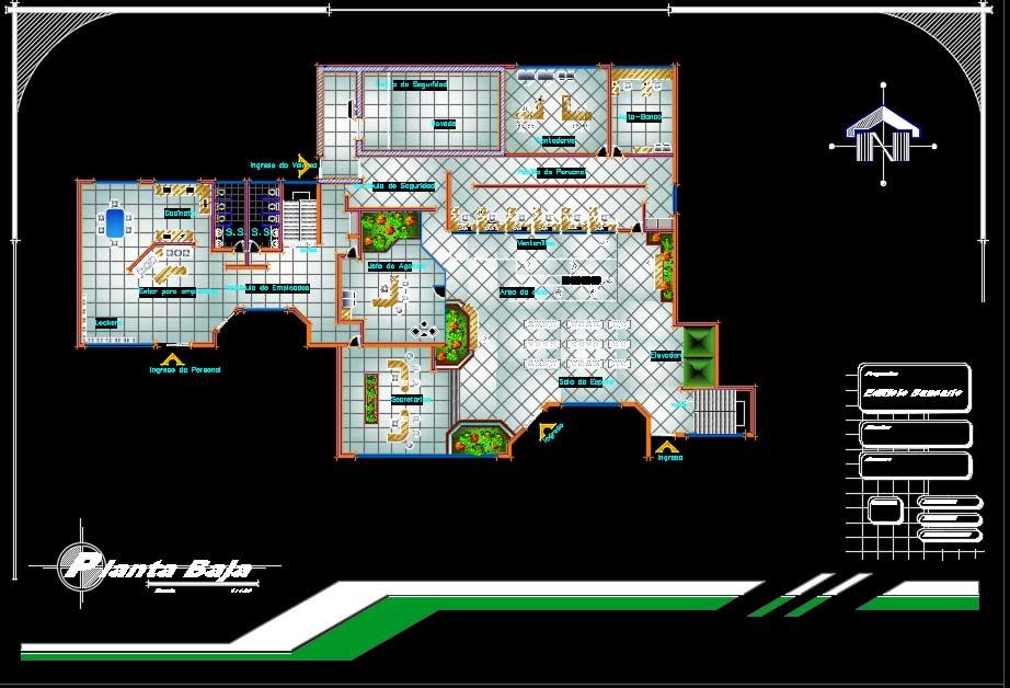 پروژه طراحی بانک