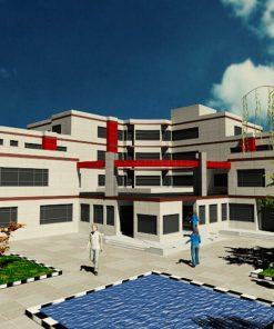 طرح 4 بیمارستان