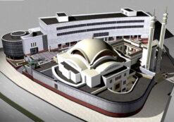 دانلود پروژه طراحی مجتمع مذهبی فرهنگی شهرک قدس