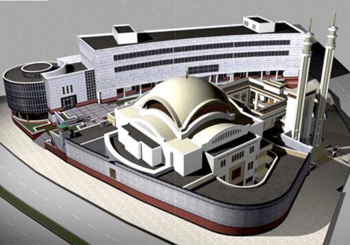 پروژه طراحی مجتمع مذهبی فرهنگی