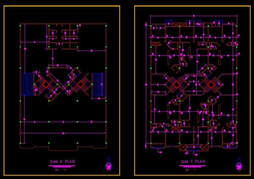 نقشه مسکونی فاز 2