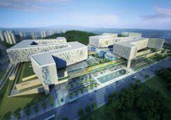 دانلود پروژه کامل بیمارستان با طراحی معماری ویژه