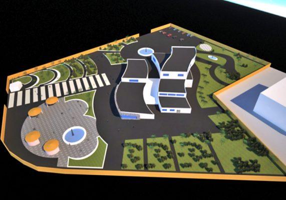 پروژه طراحی فرهنگسرا 2019 شامل تمامی شیت های معماری