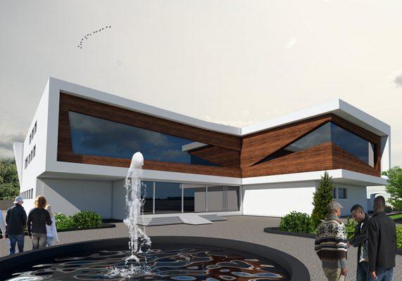 خرید و دانلود پروژه معماری بیمارستان با طراحی کامل
