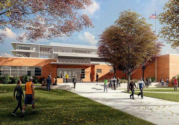 دانلود پروژه مدرسه ابتدایی 12 کلاسه (درس طراحی فنی ساختمان)