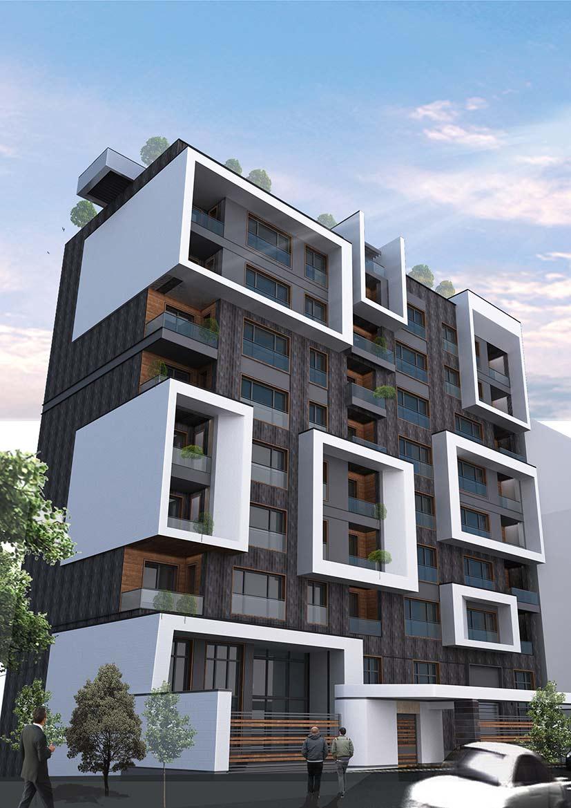 تحلیل ابعاد استاندارد فضاهای مجتمع مسکونی بر طبق ضوابط