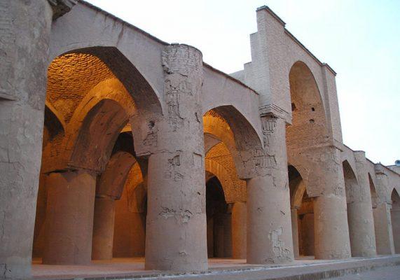 مسجد تاریخانه دامغان پاورپوینت 50 اسلایدی بهمراه تصاویر و نقشه