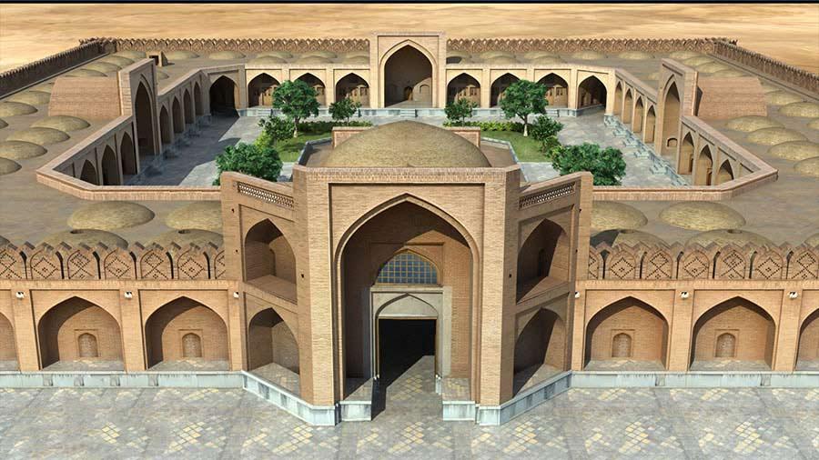 معماری كاروانسراهاي دوره اسلامي